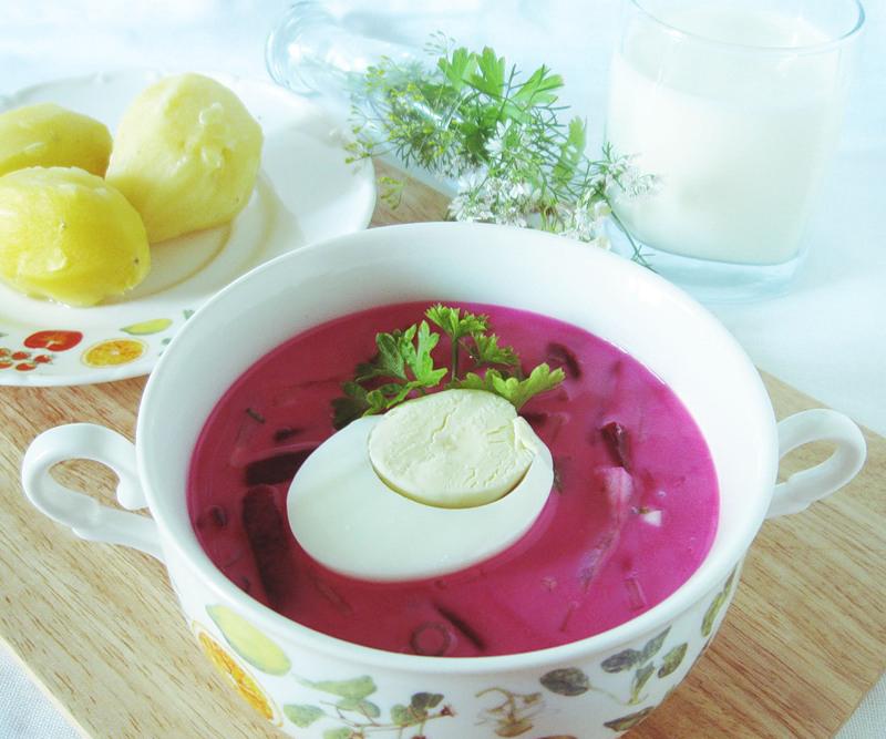 свекольник холодный классический рецепт на кефире